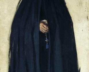 Монахиня — Борис Кустодиев