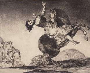 Abducting horse — Франсиско де Гойя