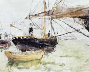 Aboard a Yacht — Берта Моризо
