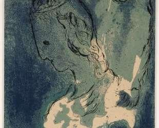 Авраам и Сара — Марк Шагал