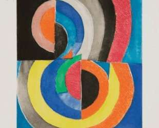 Abstract Composition with Semicircles — Соня Делоне