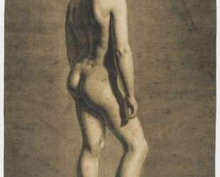 Рисунок молодой женщины — Эжен Делакруа