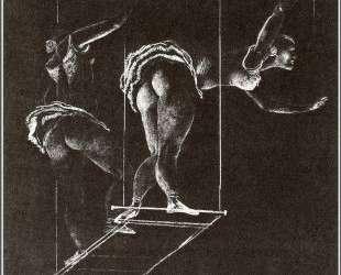 Акробаты — Александр Дейнека