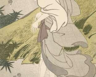Actor Bando Mitsugoro III as Seigen — Утагава Тоёкуни