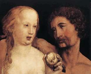 Adam and Eve — Ганс Гольбейн Младший