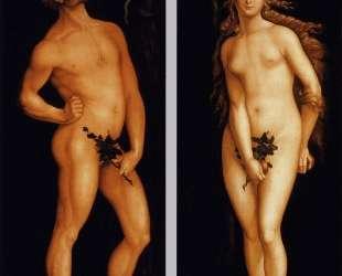 Адам и Ева — Ханс Бальдунг