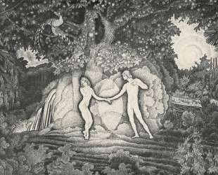 Adam and Eve — Константин Юон