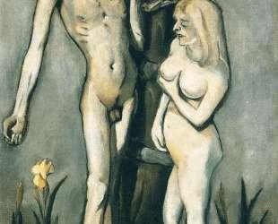 Adam and Eve — Макс Бекман