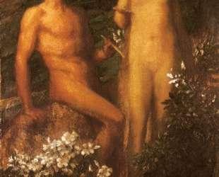 Adam and Eve before the Temptation — Джордж Фредерик Уоттс