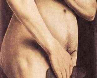 Адам (Левое крыло Гентского алтаря) — Ян ван Эйк