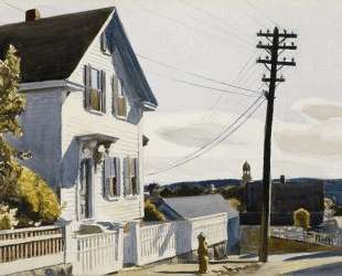Adam's House — Эдвард Хоппер
