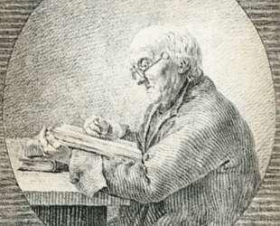 Adolf Gottlieb Friedrich, Reading — Каспар Давид Фридрих