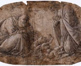Поклонение младенцу Христу — Сандро Ботичелли