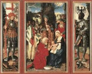 Поклонение волхвов — Ханс Бальдунг
