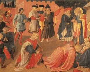 Поклонение волхвов — Фра Анджелико