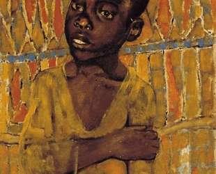 Африканский мальчик — Кузьма Петров-Водкин