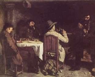 После обеда в Орнане — Гюстав Курбе