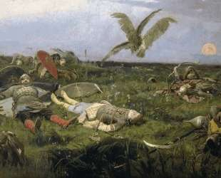 After Prince Igor`s Battle with the Polovtsy — Виктор Васнецов