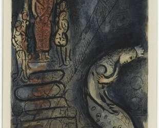 Артаксеркс прогоняет Астинь — Марк Шагал