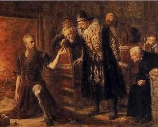 Alchemist Sendivogius — Ян Матейко