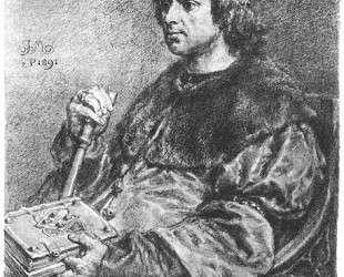 Aleksander Jagiellonczyk — Ян Матейко