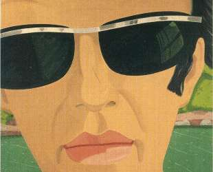 Alex Katz. Self-Portrait with Sunglasses — Алекс Кац