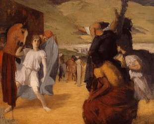 Александр и Буцефал — Эдгар Дега