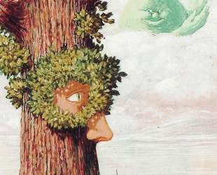 Alice in Wonderland — Рене Магритт