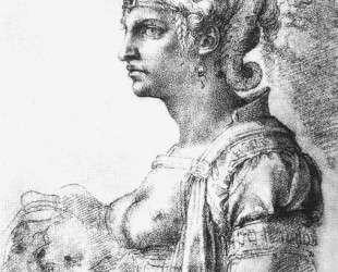 Allegorical figure — Микеланджело