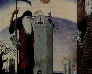 Allegory of 1916 (Chronos) — Георгий Нарбут