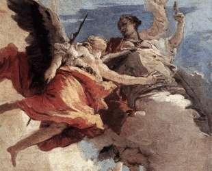 Allegory of Strength and Wisdom — Джованни Баттиста Тьеполо