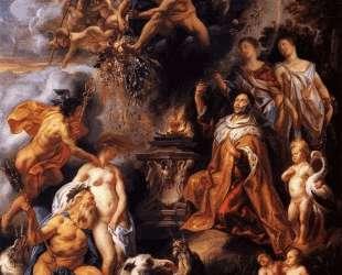 Allegory of the Peace of Westphalia — Якоб Йорданс