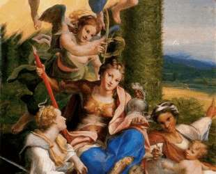 Аллегория добродетелей — Корреджо