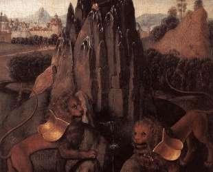 Аллегория с Богородицей — Ганс Мемлинг