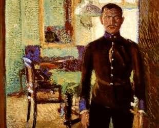 Portrait of a Lieutenant (Alois Gerstl) — Рихард Герстль