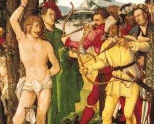 Алтарная картина Муки Святого Себастьяна — Ханс Бальдунг