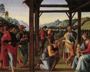 Поклонение волхвов — Пьетро Перуджино