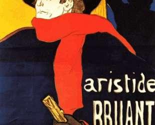 Ambassadeurs Aristide Bruant in his cabaret — Анри де Тулуз-Лотрек