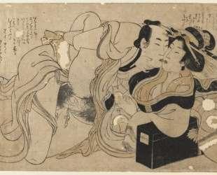 Amorous Couple — Китагава Утамаро