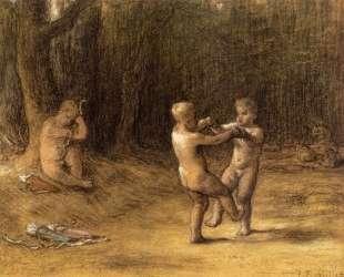 Танец Амура — Жан-Франсуа Милле