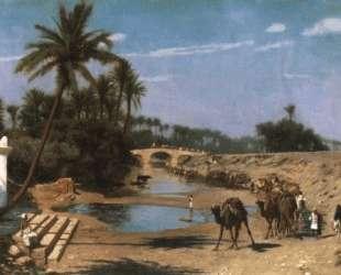 An Arab Caravan — Жан-Леон Жером
