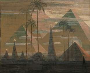 Анданте (Соната пирамид) — Микалоюс Чюрлёнис