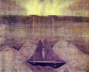 Анданте (Соната моря ) — Микалоюс Чюрлёнис