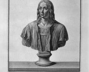 Portrait of Raffaele Lanzio da Vitine — Джованни Баттиста Пиранези