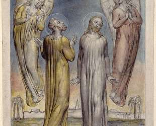 Андрей, Симеон, Петр в поисках Христа — Уильям Блейк