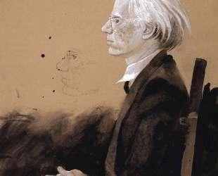 Andy Warhol — Facing Left — Джейми Уайет