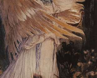 Angel with a lamp — Виктор Васнецов
