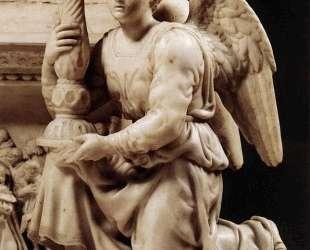 Angel with Candlestick — Микеланджело