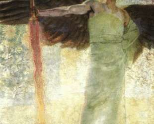 Angel with the Flaming Sword — Франц фон Штук