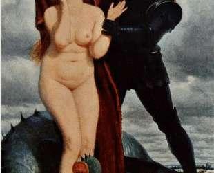 Angelika, guarded by a dragon — Арнольд Бёклин